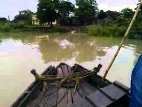 Bangladeshi Ship Running On The River video