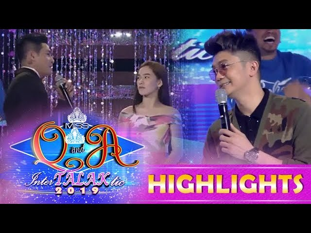 It's Showtime Miss Q & A: Kuya Escort Ion calls Ate Girl Jackque as his wife