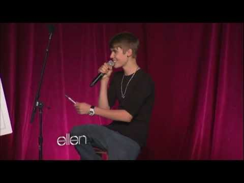 Justin Bieber Answers a Question About Selena!