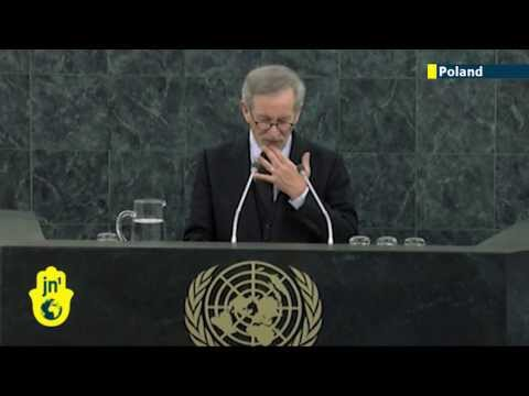 International Holocaust Remembrance Day 2014: Steven Spielberg leads tributes at United Nations