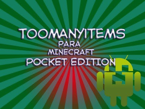 TooManyItems para Minecraft Pocket Edition 0.6.1
