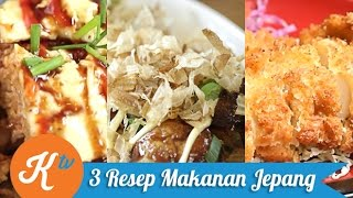 3 Resep Masakan Jepang