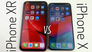 iPhone XR vs iPhone X SPEED TEST & GEEKBENCH TEST! [German/Deutsch]
