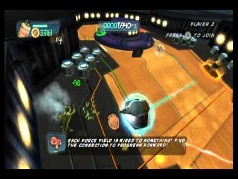 Monsters vs. Aliens Movie Game Walkthrough Part 8 (Wii)