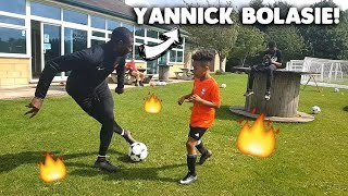 How to be a Pro!! | Tekkerz Kid ft Yannick Bolasie - EVERTON!!