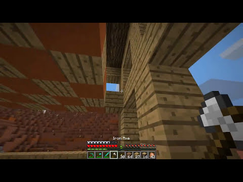 Minecraft: Mindcrack S5E26 - Saloon Work