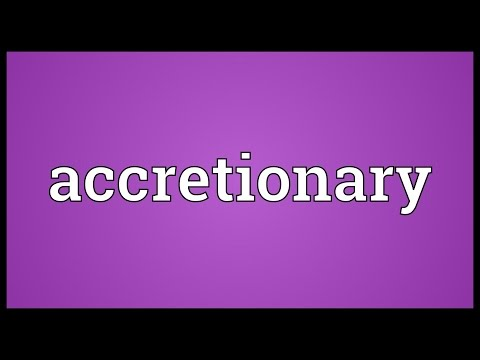 Header of Accretionary