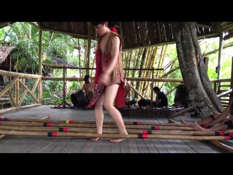 Kadazan Bamboo Dance