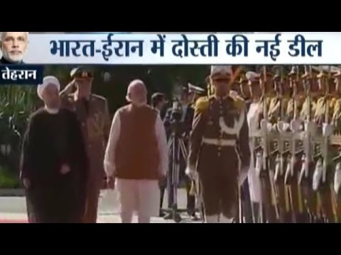 PM Modi Receives a Grand Ceremonial Welcome in Iran | Modi's Iran Visit