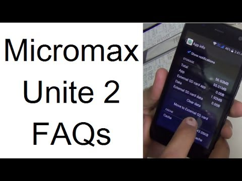 Micromax Unite 2: Move Apps To SD Card. OTG Support & WiFi Hotspot Feature