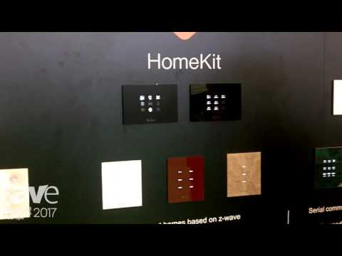 ISE 2017: CONTEC Intelligent Housing Explains Da Vinci HomeKit Touch Switch
