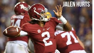 "Jalen Hurts ""Dynamic Freshman"" 
