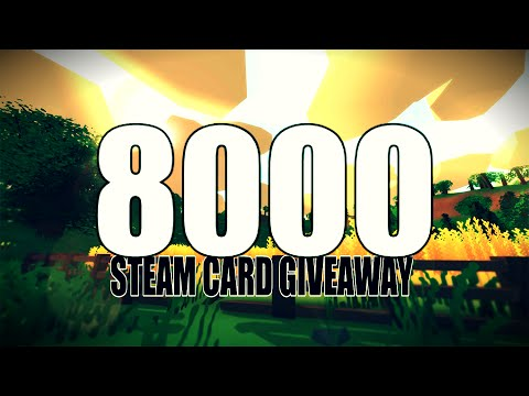 8000 Subscribers Giveaway! :)