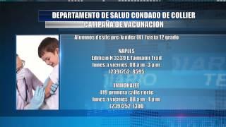 Programa de Vacunas para el regreso a Clases en Collier