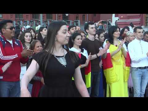 Симд на Красной площади: акция в поддержку сборной России по футболу прошла в Москве 1