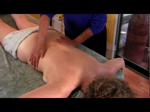 Massage Therapy Benefits, Spa Techniques How To for Back & Neck by Athena Jezik