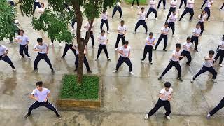 Bài thể dục võ cổ truyền THCS Thạnh Trị- Tiền Giang