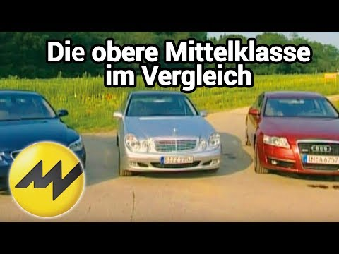Audi A6 3.0 TDI vs. Mercedes E 320 CDI vs. BMW 530d: Die obere Mittelklasse im Vergleich