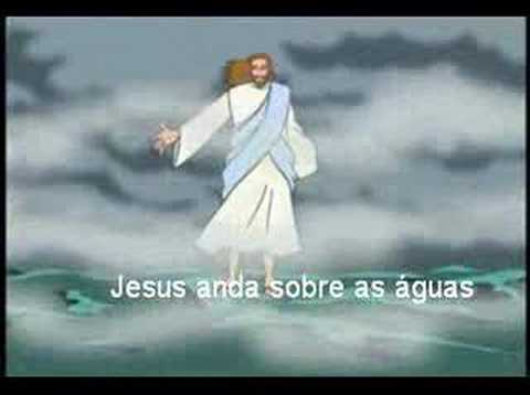 Jesus anda sobre as águas ! - YouTube
