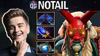 OG.NOTAIL GRIMSTROKE WITH AGHANIMS - DOTA 2 7.25 GAMEPLAY