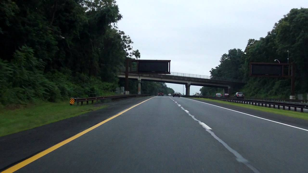 Garden State Parkway Exits 114 To 102 Southbound