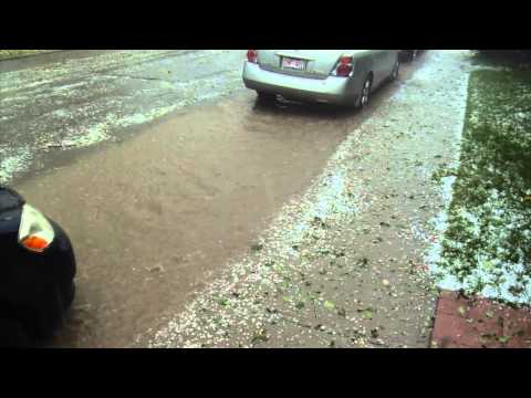 Calgary - Aug 04 2015 - Killarney - Hail - Flash Flood