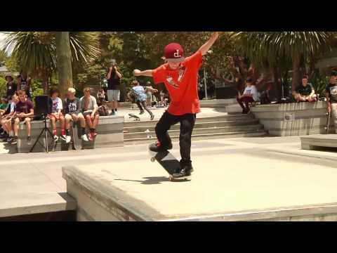 Young Guns Skate Series Final 2014 - Victoria Skatepark
