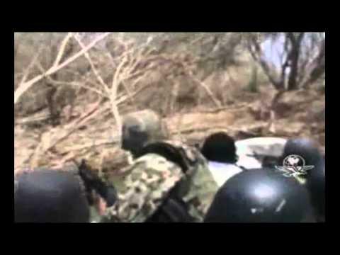Marinos descubren campamento  Zeta en presa falcon