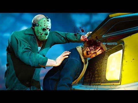 НЕ СТОИЛО УЕЗЖАТЬ ОТ ДЖЕЙСОНА! (The Friday 13th: The Game)