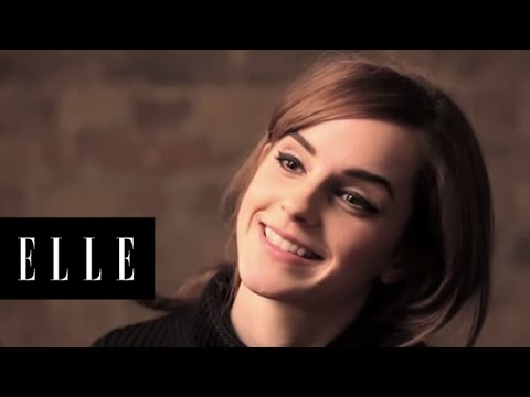 Behind the Scenes with Emma Watson on Her ELLE Cover Shoot