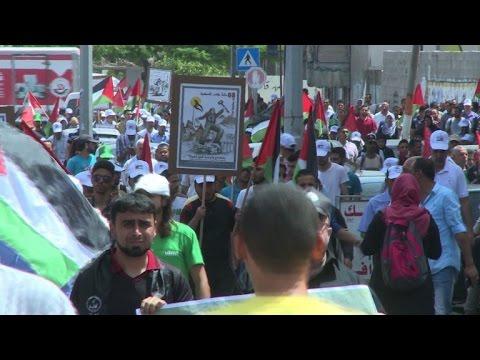 Palestinians commemorate the Nakba in the Gaza Strip