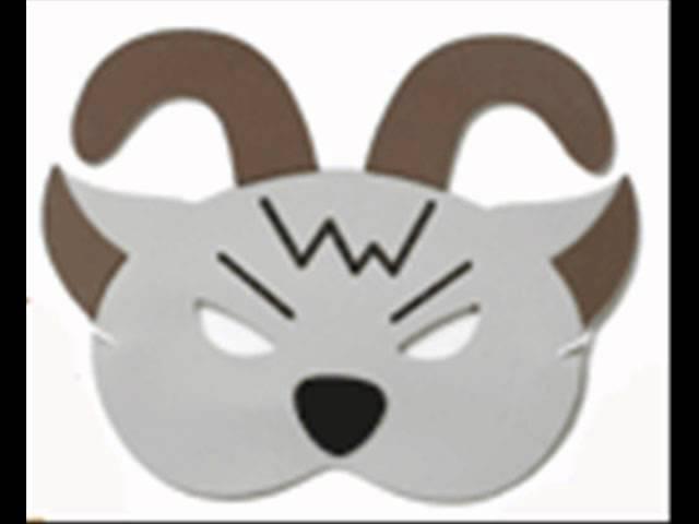 Videotutorial, realizar máscaras con forma de animales paso a paso ...