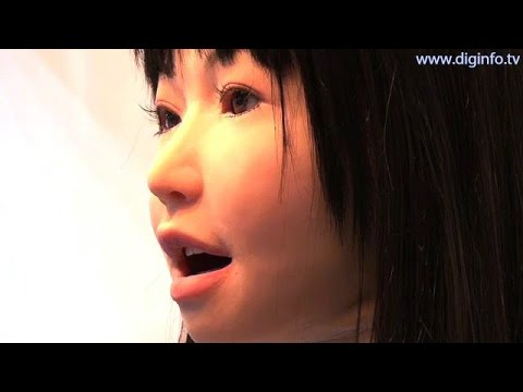 Yamaha Vocaloid robot singing using speech synthesis software #DigInfo