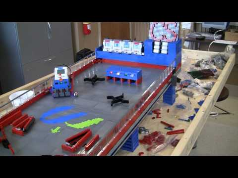 Lego NXT Pinball Machine - Gameplay test #3