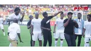 Asamoah Gyan, Adebayor and others dancing to Gasmila's Telemo