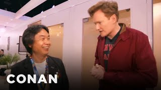Conan Chats With Mario Creator Shigeru Miyamoto  - CONAN on TBS