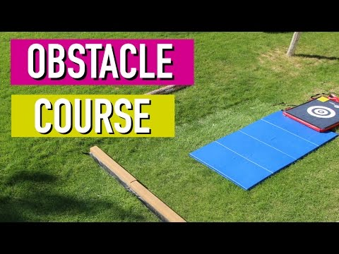 Gymnastics Obstacle Course
