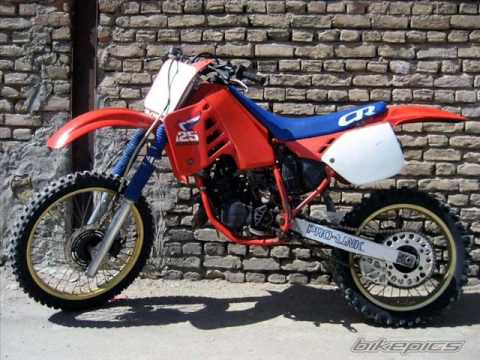 Evolution of the cr 125 1973 to 2009