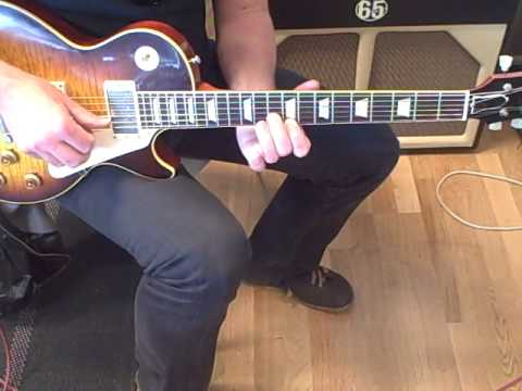 Gibson R9 with Lollar Imperials plugged into a 65 Amps Lil Elvis Part2