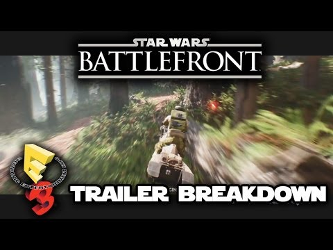 Star Wars Battlefront 3 Trailer E3 2014 BREAKDOWN Alpha Gameplay: Death Star, Sith, Endor, Hoth!