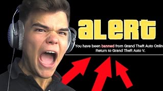 I GOT BANNED ON GTA 5!