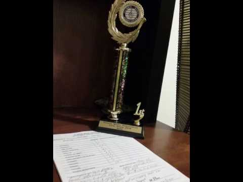 The first place at the Illinois Music Association  56th Annual State Olympic Music  Competition