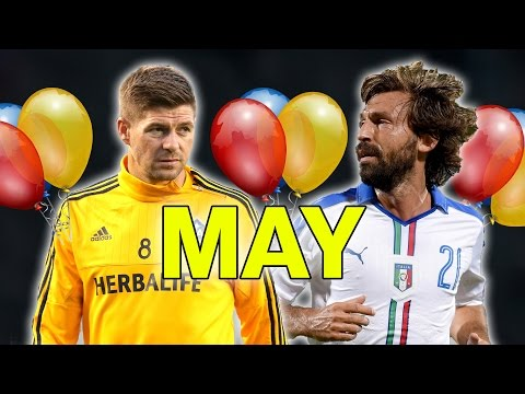 Which Football Star Do You Share A Birthday With? | May
