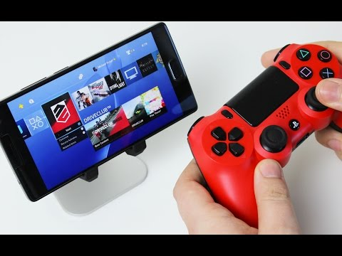 Play your PlayStation 4 on Android!