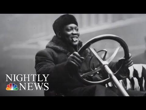 Boxing Champ Jack Johnson Posthumously Pardoned By President Donald Trump  NBC Nightly News