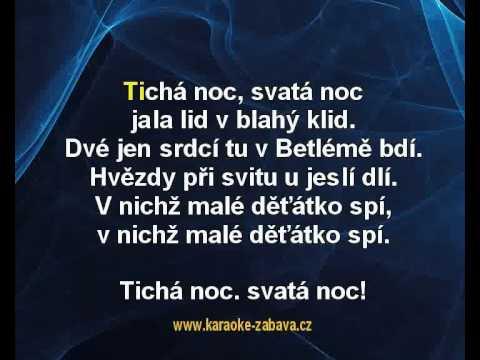 Karaoke Klip Tichá Noc - Koleda