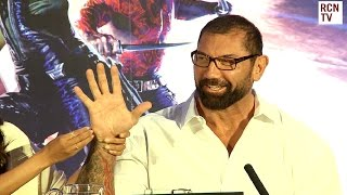 Dave Bautista Fights a Bully - Guardians of the Galaxy Premiere