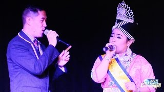 KUVPAUB: LILY VANG, Miss Hmong Southern California, and her singing partner performed LIVE