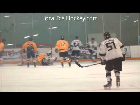 #54 Kyle Dawson scores from #13 Travis Martin for LA Kings vs Riptide 18aa 11/18/12