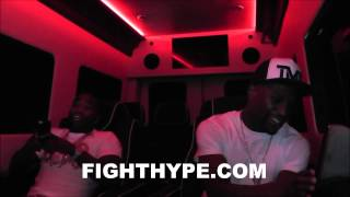 [VIDEO] FLOYD MAYWEATHER AND ADRIEN BRONER: IT'S A PROBLEM ROLLIN' WITH MONEY